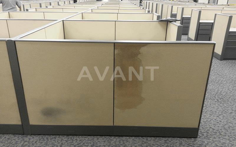 Nettoyage meubles tissus - avant