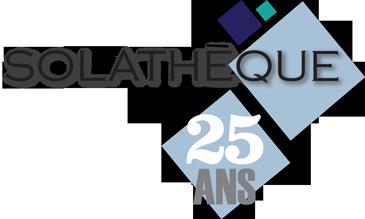 Logo Solathèque 25 ans